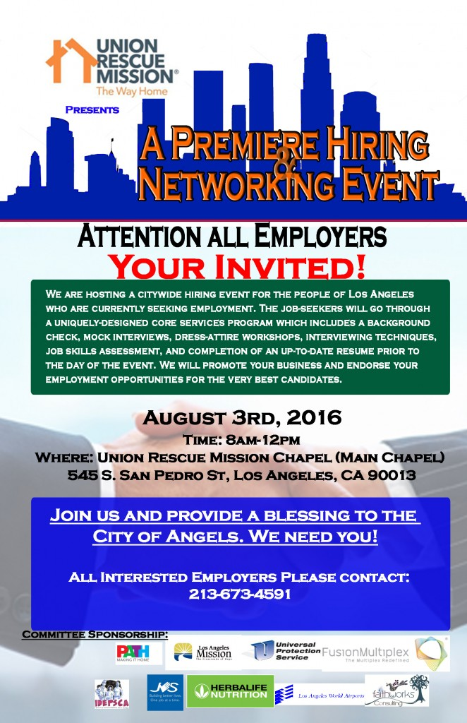 Employer Invite flyer