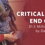 Critical Year End Goal: $1.5 Million Needed by December 31